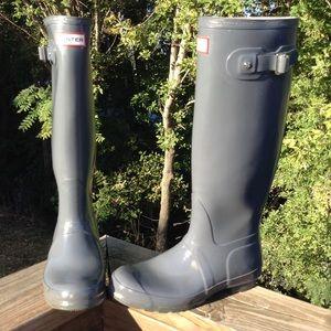 Hunter Original Glossy Tall Boots